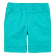 Okie Dokie® Solid Bermuda Shorts - Toddler Girls 2t-5t