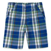 Okie Dokie® Plaid Shorts - Toddler Boys 2t-5t