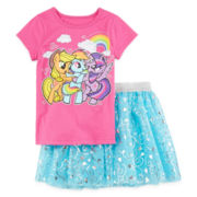 My Little Pony Shirt and Tutu Set- Toddler Girls 2t-4t