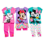 Disney Apparel by Okie Dokie® Minnie Tee, Leggings Or Skort - Preschool Girls 4-6x