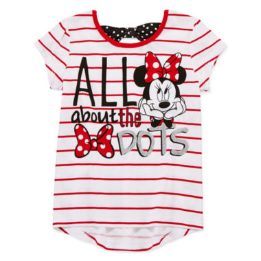jcpenney.com | Disney Apparel by Okie Dokie Minnie Mouse Bow Tee, Skort or Leggings - Preschool Girls 4-6x