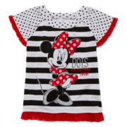 Disney Apparel by Okie Dokie Minnie Mouse Tee - Preschool Girls 4-6x
