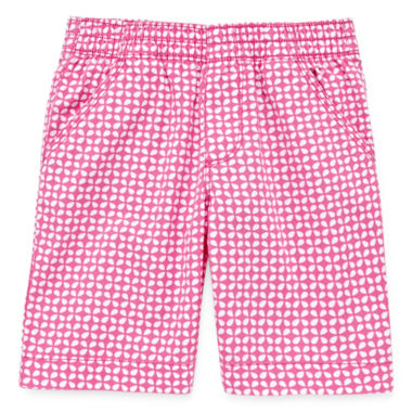 jcpenney.com | Okie Dokie® Print Bermuda Shorts - Preschool Girls 4-6x