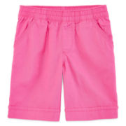 Okie Dokie® Solid Bermuda Shorts - Preschool Girls 4-6x