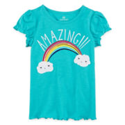 Okie Dokie Short-Sleeve Tee - Preschool Girls 4-6x