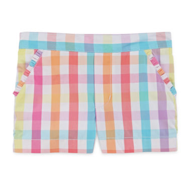 jcpenney.com | Okie Dokie® Gingham Shorty Shorts - Preschool Girls 4-6x