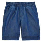 Okie Dokie Bermuda Shorts - Preschool Girls 4-6x