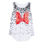 Minnie Mouse Bow Tank Top - Girls 7-16