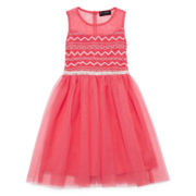 Disorderly Kids® Coral Illusion Ballerina Dress - Girls 7-16
