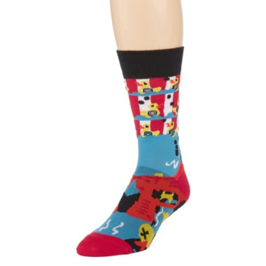 jcpenney.com | Reckless®  Novelty Print Crew Socks