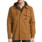 Tough Duck™ Sherpa-Lined Shirt - Big & Tall