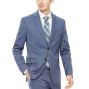 JF J. Ferrar® Birdseye Suit Jacket - Super Slim Fit