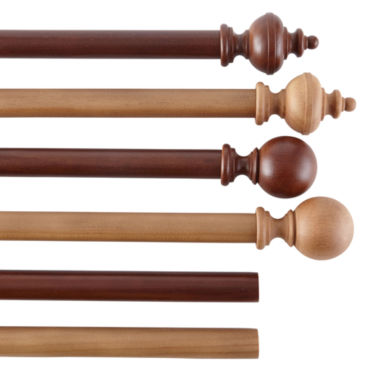 jcpenney.com | Wood Curtain Pole Collection