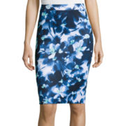 Liz Claiborne®  Floral Knit Skirt - Tall