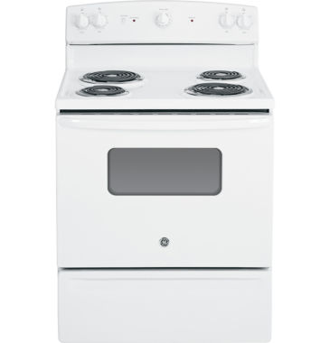 "jcpenney.com | GE® 30"" 5.0 Cu. Ft. Free-Standing Electric Range"