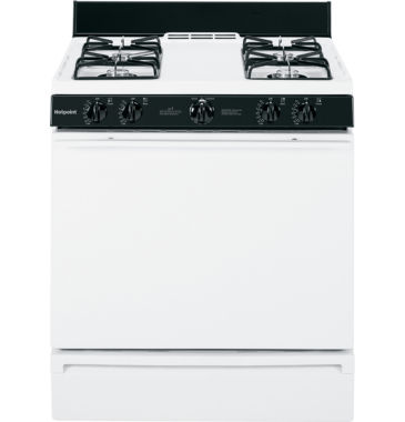 "jcpenney.com | Hotpoint® 30"" Free-Standing Gas Range"