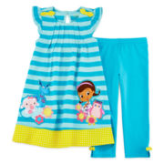 Disney Collection Doc Mcstuffins Dress Set - Girls 2-10
