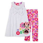 Disney Collection Pink Minnie Mouse 2 pc. Set - Girls 2-8