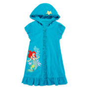 Disney Collection Ariel Swim Cover Up - Girls