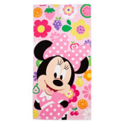 Disney Collection Pink Minnie Mouse Towel