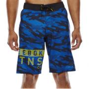 Reebok® Workout Ready Camo Board Shorts