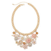 Mixit™ Flower Bib Statement Necklace