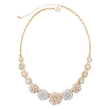 jcpenney.com | Mixit™ Multi Flower Collar Necklace