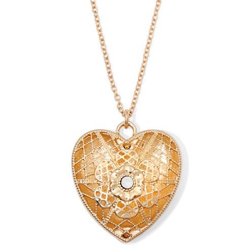 Decree® Heart Locket Necklace
