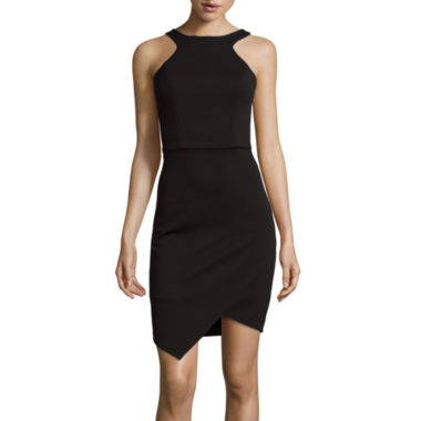 jcpenney.com | Bisou Bisou®  Sleeveless Halter Bodycon Dress