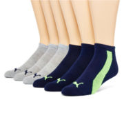 Puma® Mens 6-pk. Low-Cut Socks