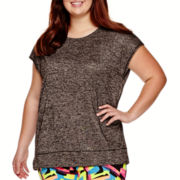 City Streets® Dolman Layered T-Shirt - Juniors Plus