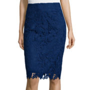 Liz Claiborne®  Lace Skirt - Tall