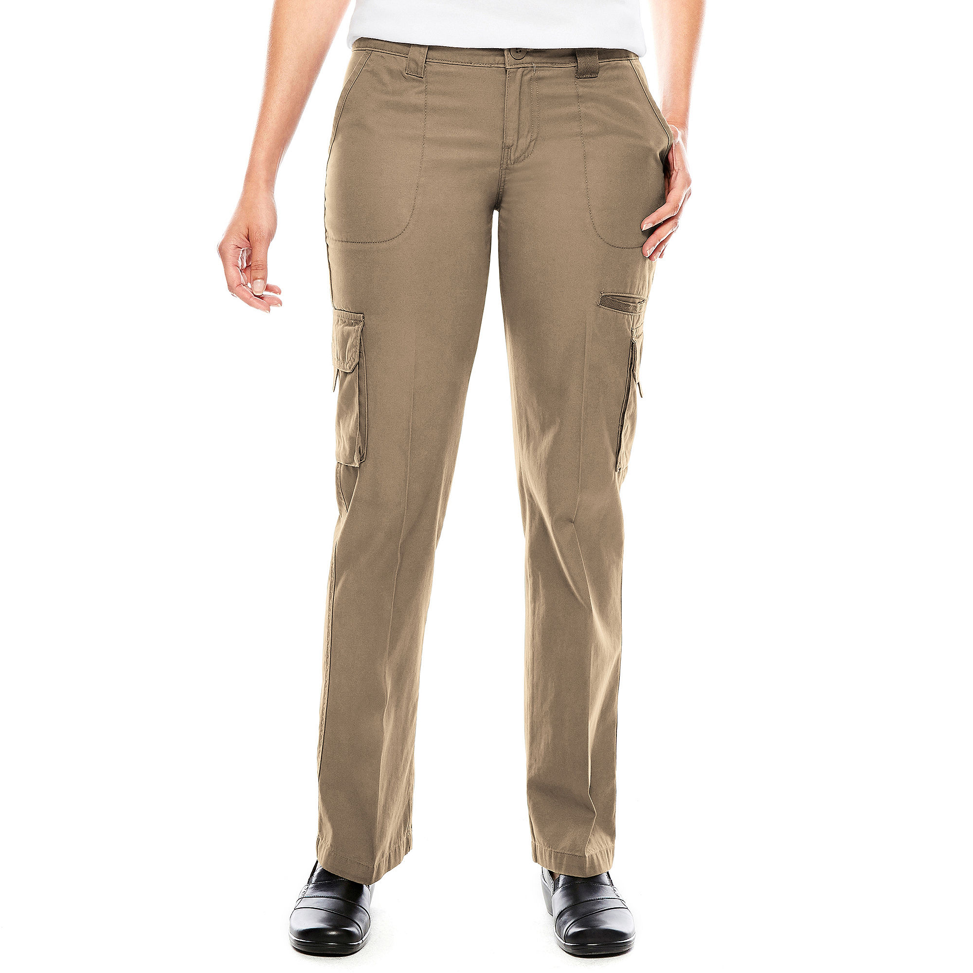 UPC 607645837833 - Dickies Womens Relaxed-Fit Straight-Leg Cargo ...