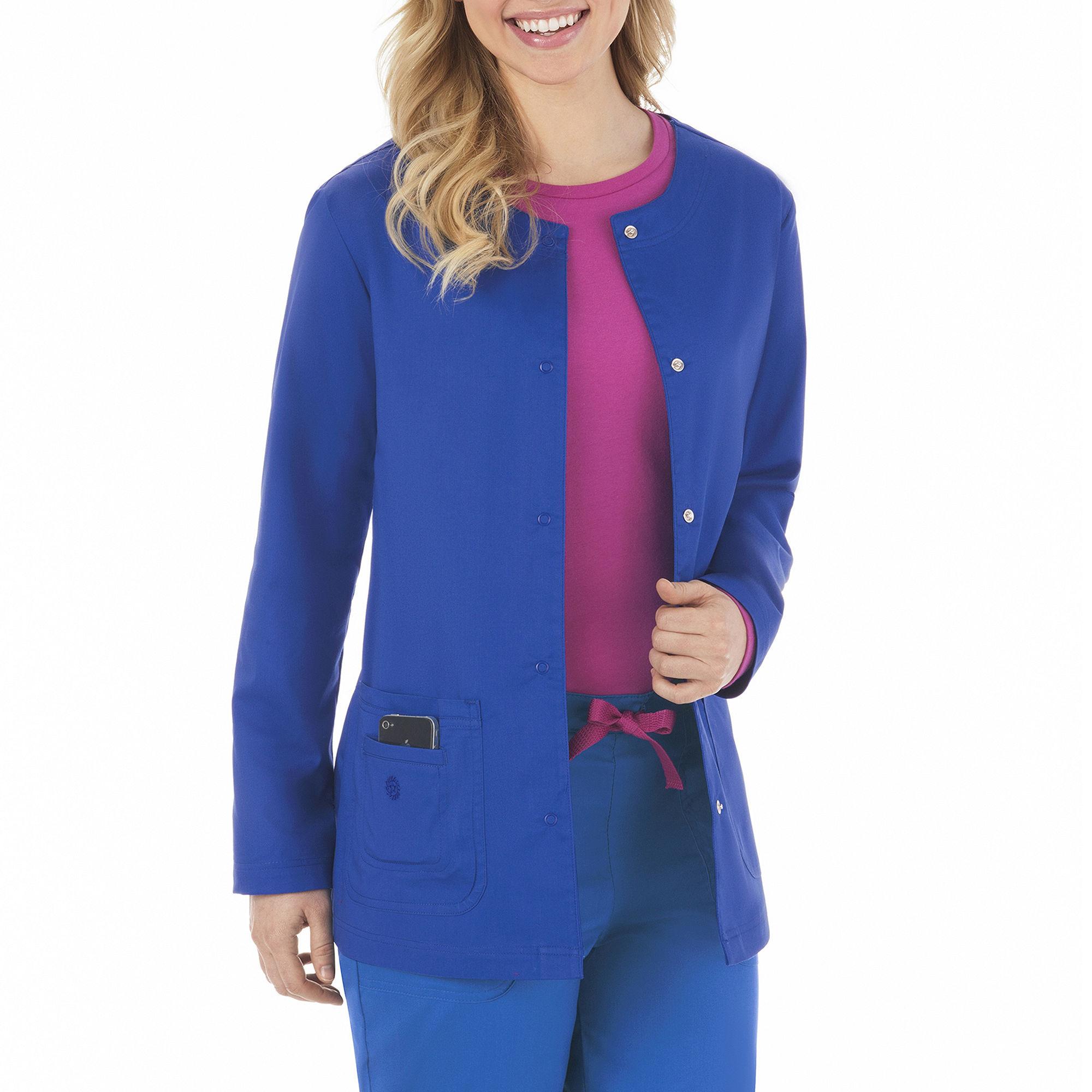 Bio Stretch Ladies Everyday Warm-Up Jacket - Plus