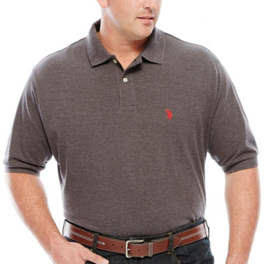 jcpenney.com | U.S. Polo Assn.® Solid Pique Polo - Big & Tall