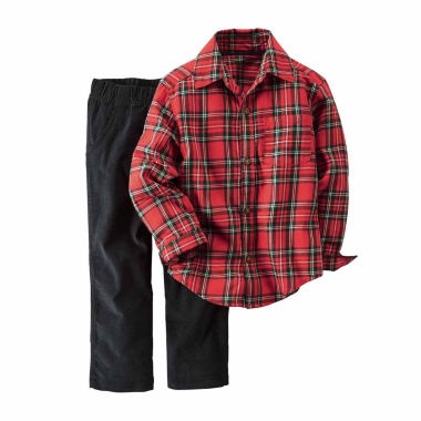jcpenney.com | Carter's Boys 2-pc. Long Sleeve Pant Set-Baby