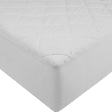jcpenney.com | St. James Home 233TC Cotton Mattress Pad with Waterproof Back and Stain Resistent Finish