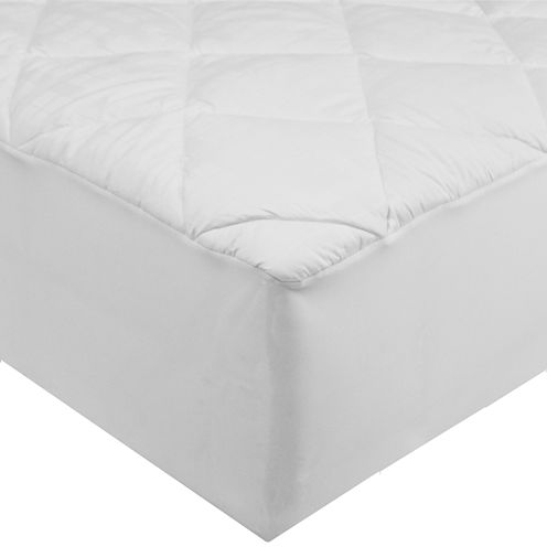 St. James Home 400TC 100% Cotton Stain Resistant Mattress Pad