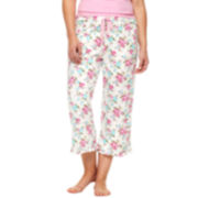 Insomniax® Floral Print Sleep Pants - Plus