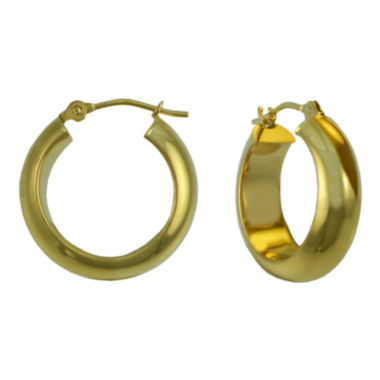 jcpenney.com | 14K Gold Thick Hoop Earrings