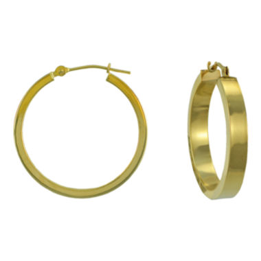 jcpenney.com | 25mm Large 14K Gold Hoop Earrings