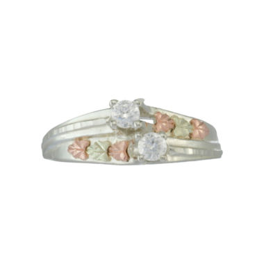 jcpenney.com | Black Hills Gold Jewelry by Coleman® Cubic Zirconia Floral Ring