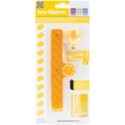 Sew Ribbon Tool & Stencil-Shoelace