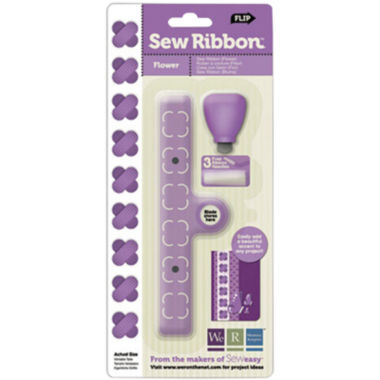 jcpenney.com | Sew Ribbon Tool & Stencil - Flower