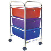 Cropper Hopper 3-Drawer Rolling Cart