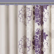 Madison Park Jane Floral Shower Curtain