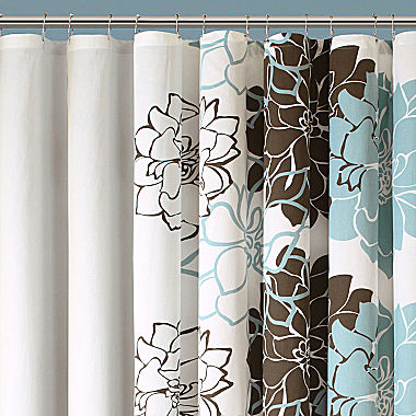 Madison Park Farrah Floral Shower Curtain