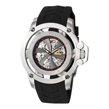 jcpenney.com | Stührling® Original Mens Propeller-Style Skeleton Automatic Watch