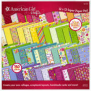 "American Girl Crafts 12x12"" Super Paper Pad"