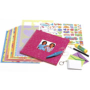 Creativity For Kids It's My Life Scrapbook Kit with Bonus Key Chain Album
